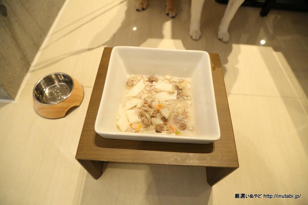 ホテル凛香 山中湖リゾート 犬用メニュー