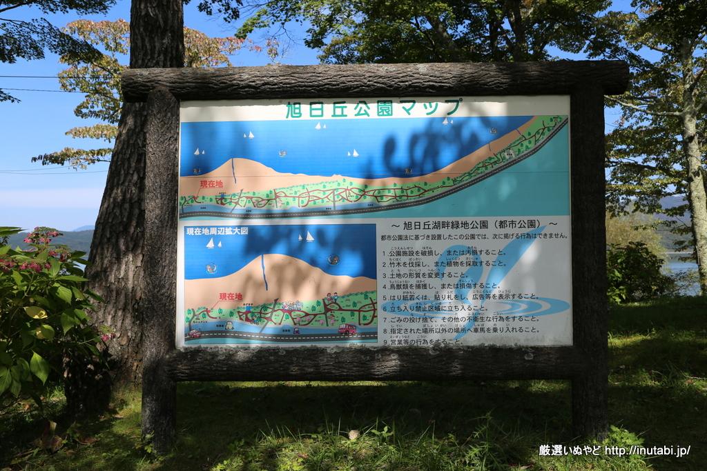山中湖畔 旭日丘公園