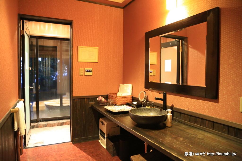 はんなり伊豆高原 「蛍」洗面室