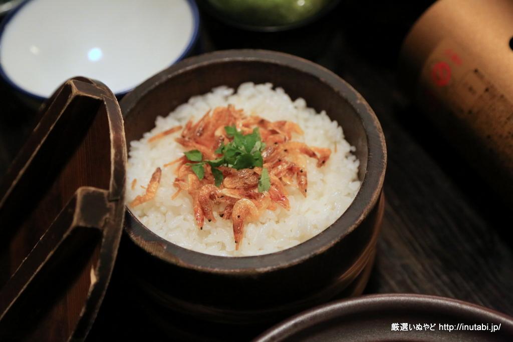 はんなり伊豆高原 夕食 桜海老御飯