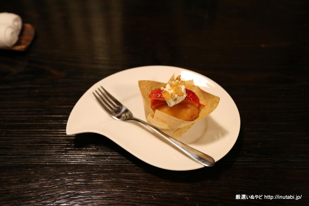 はんなり伊豆高原 夕食 焦がしりんご